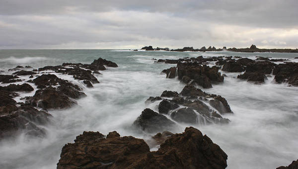 Oceanscape Art Print featuring the photograph That's The Point by Paul Maples