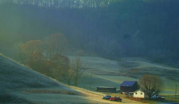 Tennessee Art Print featuring the photograph Tennessee Morning.. by Al Swasey