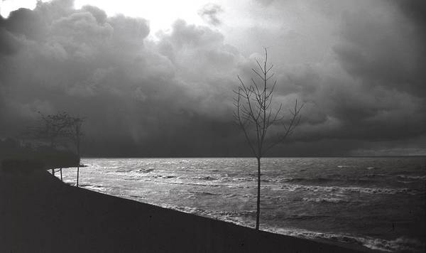Lake Erie Art Print featuring the photograph 091508-1 by Mike Davis