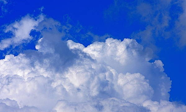 Clouds Art Print featuring the photograph Storm Clouds From Ike by Kenna Westerman