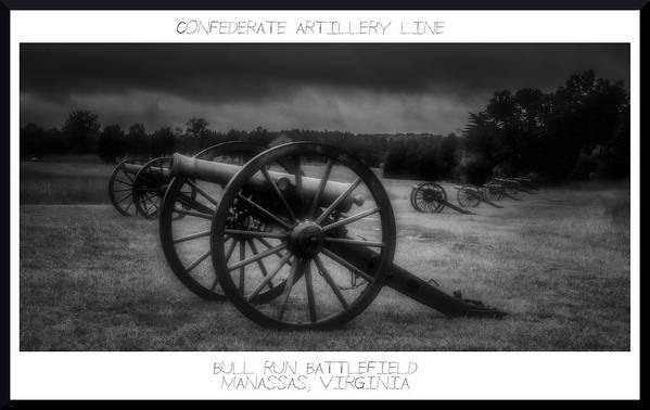 Artillery Art Print featuring the photograph 101414-160 by Mike Davis