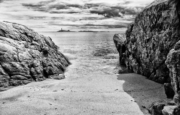 Landscape Art Print featuring the photograph White Island by Dennis OKeefe