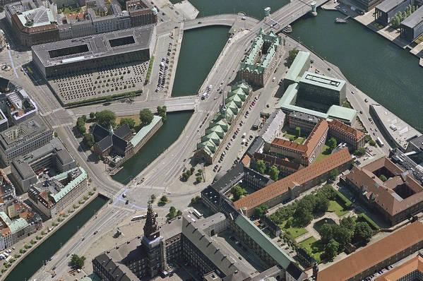 Baltic Sea Art Print featuring the photograph Børsen, Copenhagen by Blom ASA