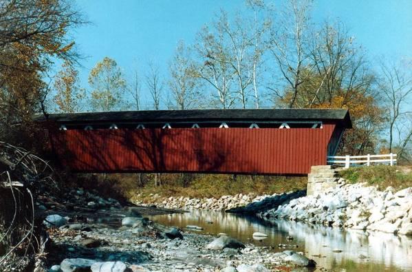 Bridge Art Print featuring the photograph 072106-31 by Mike Davis