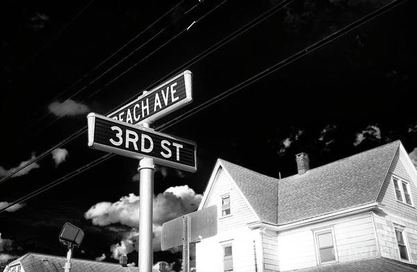 Beach Ave And 3rd Street Art Print featuring the photograph Beach Ave And 3rd Street by John Rizzuto