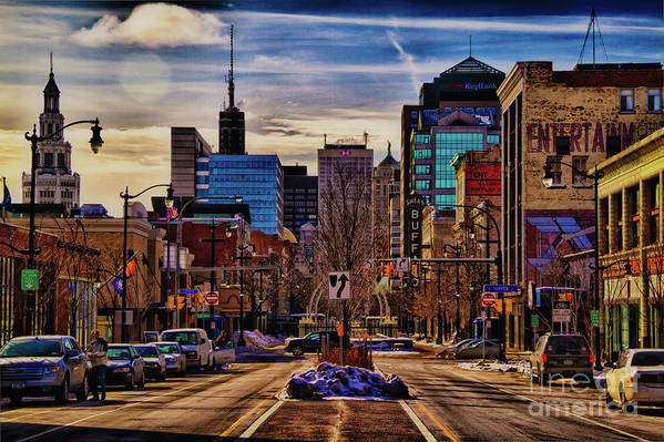 Buffalo Ny Art Print featuring the photograph Entertainment by Chuck Alaimo