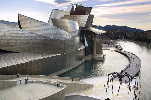 Spain Art Print featuring the photograph Guggenheim Bilbao Museum by Rafa Rivas