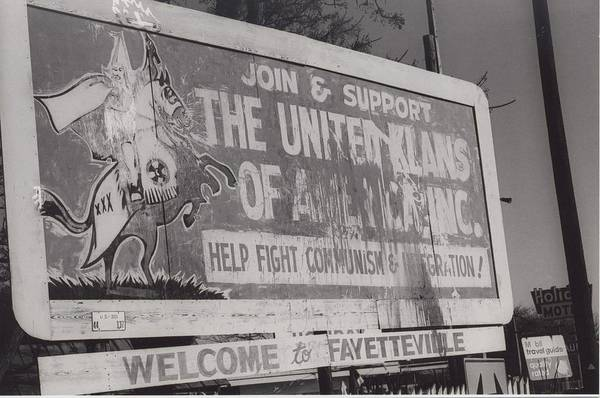 Americana Art Print featuring the photograph Kkk- 1975 by Signs Of The Times Collection