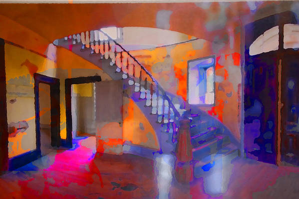 Stairs Art Print featuring the photograph Stairway by Danielle Stephenson
