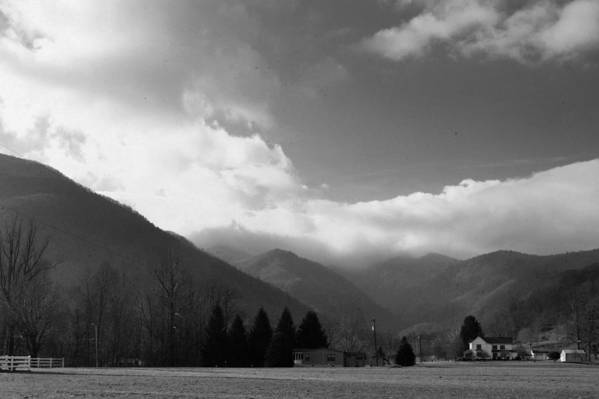 Tennessee Print featuring the photograph Tennessee Mountains by Al Swasey