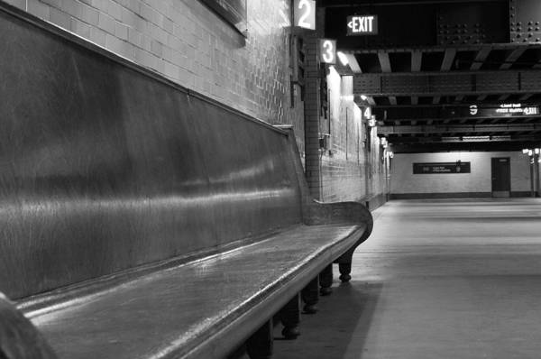 Train Station Art Print featuring the photograph Train Station by John Anderson