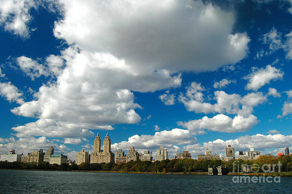West Side Art Print featuring the photograph Upper West Side Cityscape by Allan Einhorn