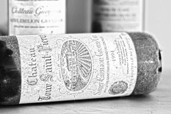 Saint Emilion Wine Art Print featuring the photograph 1994 Grand Cru by Georgia Fowler