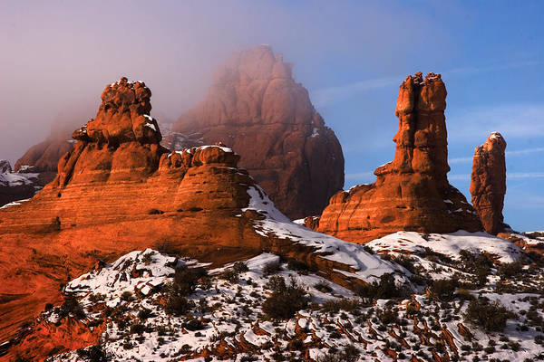 Garden Of Eden Art Print featuring the photograph Arches National Park Utah by Utah Images