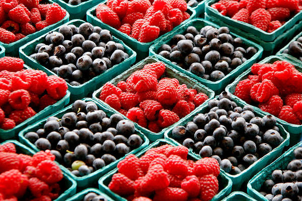 Berries Art Print featuring the photograph Berry Berry Nice by Peter Tellone