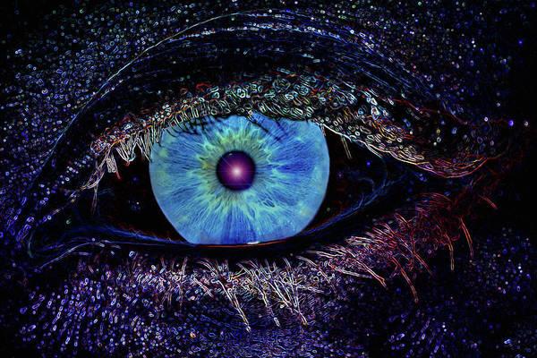Eye Art Print featuring the photograph Eye In The Sky by Joann Vitali