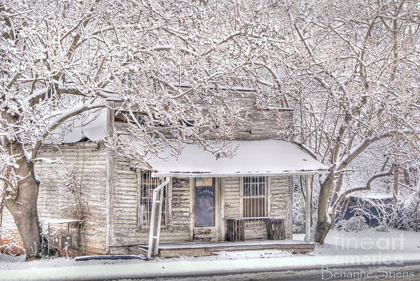 Mebane North Carolina Art Print featuring the photograph Freshwater Grocery by Benanne Stiens