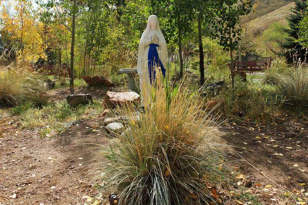 Colorado Art Print featuring the photograph Garden At Mother Cabrini by Robert Maestas