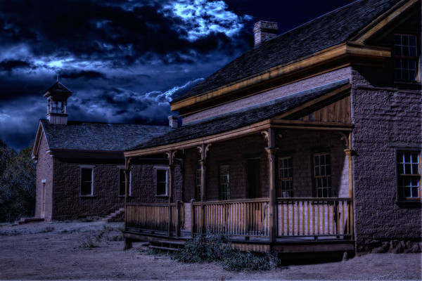 Grafton Art Print featuring the photograph Grafton Ghost Town In Southern Utah by Utah Images