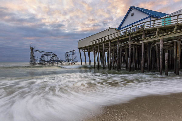 Hurricane Art Print featuring the photograph Hurricane Sandy by Mike Orso