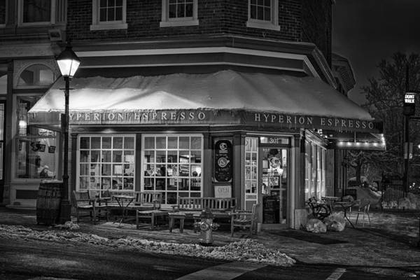 Fredericksburg Art Print featuring the photograph Hyperion In The Snow by Christopher Rok