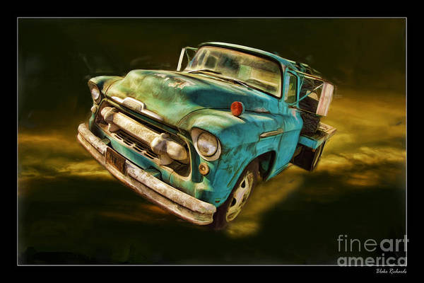 Chevy Art Print featuring the photograph The Old Chevy Max by Blake Richards