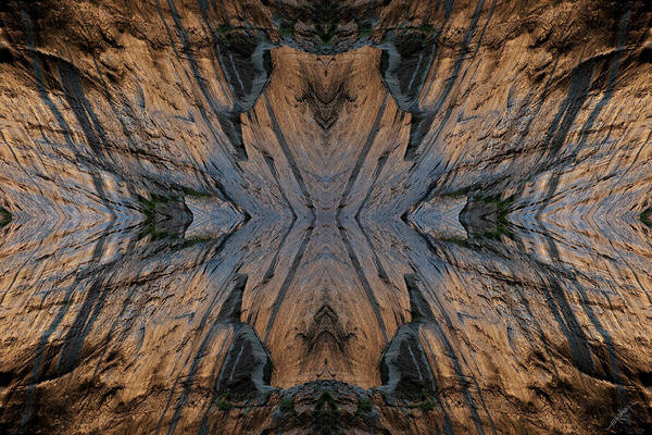 Nature Art Print featuring the photograph Narrows Mask by Ed Kelley