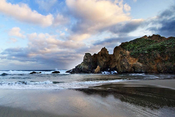 Pfeiffer Beach Art Print featuring the photograph Pfeiffer Beach by Donovan Conway
