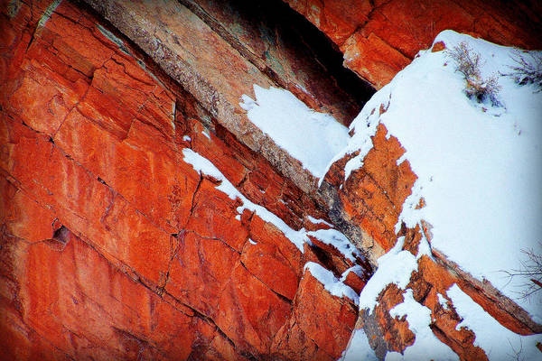 Red Rocks Art Print featuring the photograph Season's Of The West.. by Al Swasey