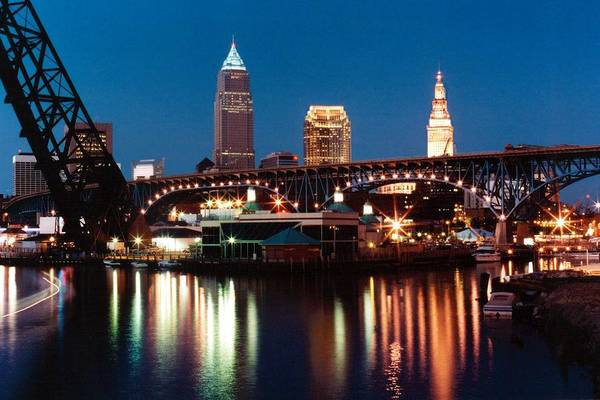 Cleveland Art Print featuring the photograph 070506-78 by Mike Davis
