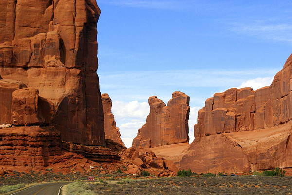 Arches National Park Art Print featuring the photograph Arches Park 2 by Marty Koch