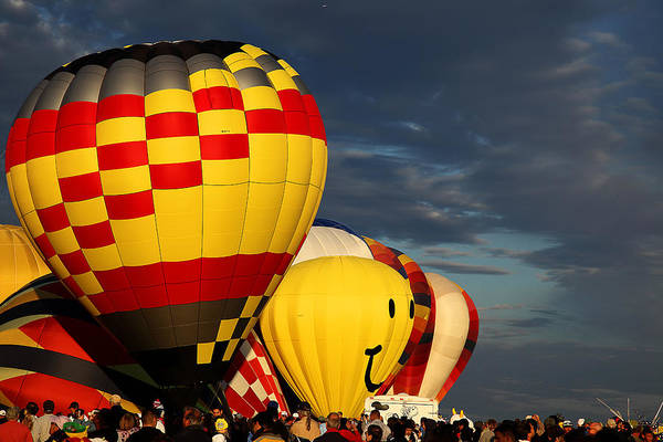 Albuquerque Art Print featuring the photograph Balloons by Anthony Sekellick