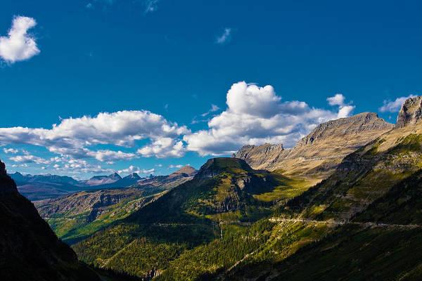 Landscape Art Print featuring the photograph Glacier National Park by Jon Woodbury