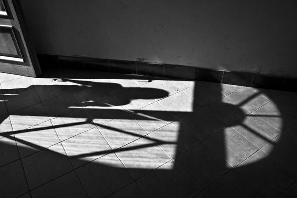 Shadow Art Print featuring the photograph It Leaves... Do Not Hold It... by Vadim Grabbe