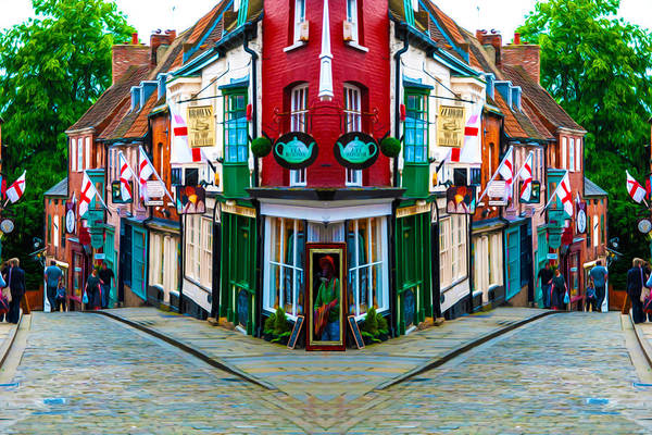 Lincoln Art Print featuring the photograph Lincoln's Steep Hill by Naomi Tebbs