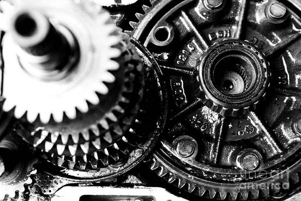 Gear Wheel Art Print featuring the photograph Merry-go-round by Vadim Grabbe