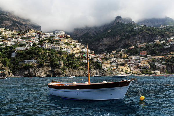 Italy Art Print featuring the photograph Positano By The Water by Joseph Hawk