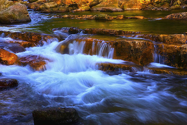 Stony Creek Virginia Art Print featuring the photograph Stony Creek Jefferson National Forest by Jim Dohms