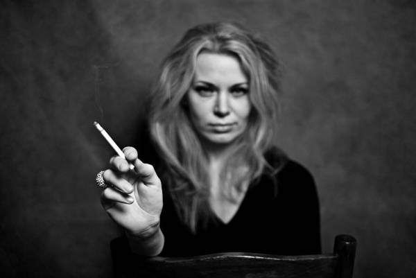 Portrait Art Print featuring the photograph The Actress by Vadim Grabbe