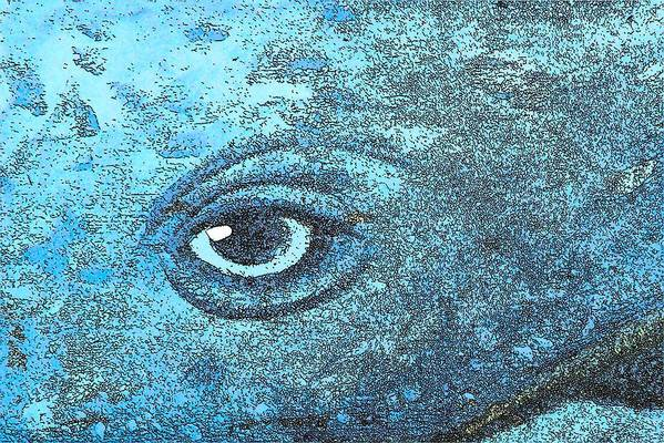 Whale Art Print featuring the photograph Whale by Mark Cheney