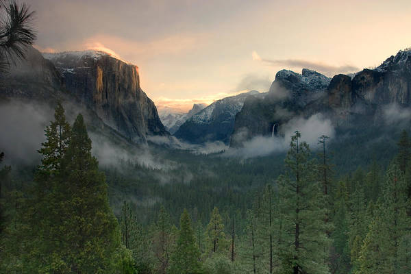 Yosemite Valley Art Print featuring the photograph Yosemite Valley by Jim Dohms