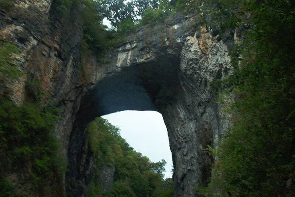 Natural Bridge Art Print featuring the photograph Natural Bridge by Eddie Armstrong