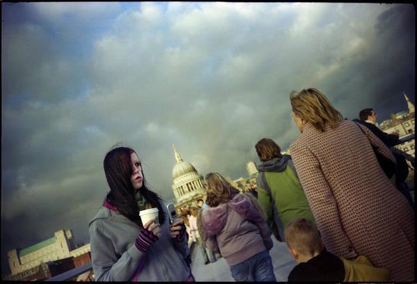 London Art Print featuring the photograph Millenium Bridge by Rafa Rivas