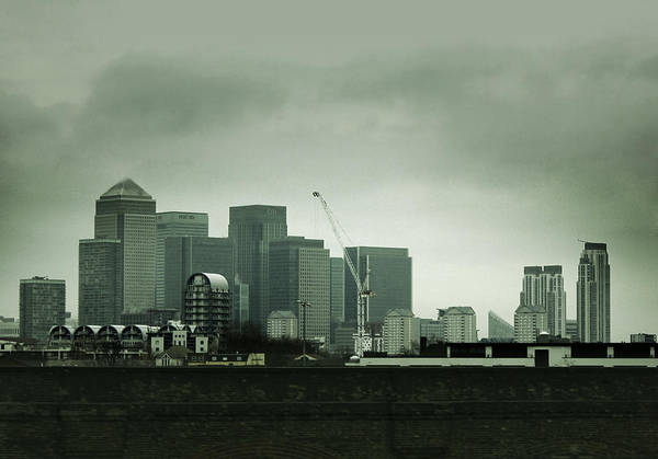 Building Art Print featuring the photograph London Buildings by Pete Luckhurst