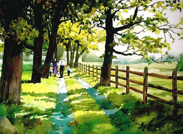 Sunday Afternoon by Faye Ziegler