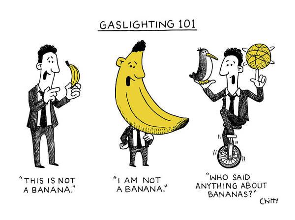 Gaslighting 101 by Tom Chitty