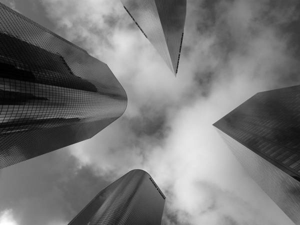 Buildings Art Print featuring the photograph 4 Faces 2 by Lloyd Silverman