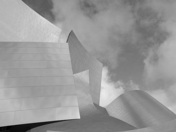 Frank Gehry Art Print featuring the photograph Dizzy Waves 3 by Lloyd Silverman