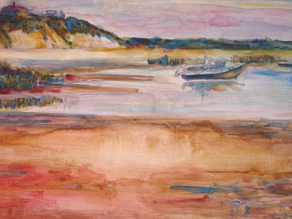 Landscape Art Print featuring the painting Cole Brook Bay by Joyce Kanyuk