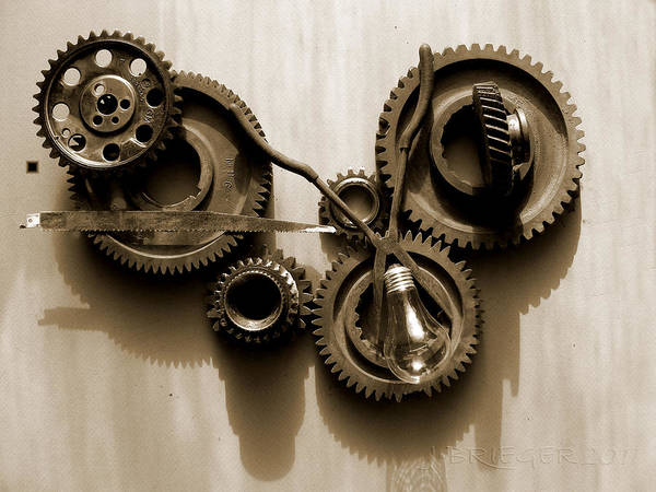 Accuracy Circle Complexity Cog Cogwheel Component Concept Conceptual Connect Connection Cooperation Design Development Drive Endurance Energy Engine Engineering Equipment Factory Fit Gear Gears Industrial Industry Interlock Isolated Machine Machined Machinery Mechanical Mechanics Mechanism Meshing Metal Metallic Mobile Motion Motor Part Perpetuum Power Rotation Strength Steel Still Transmission Technical Technology Turning Teeth Toothed Wheel Wheels Work Working Art Print featuring the pyrography Gears Iv by Jan Brieger-Scranton